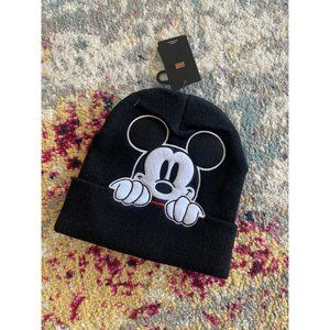 DISNEY Mickey Mouse Beanie Hat NEW